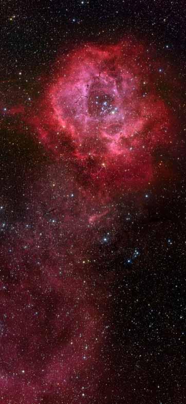 Nebulae Rosettenebula208
