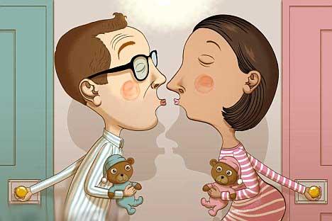 . Married Couples Sleeping in Separate Bedrooms