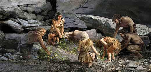 Paleolithic age clothing