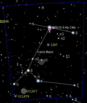Sirius is the brightest star in the night sky. With a visual apparent ...