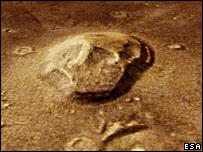 Face on Mars Skullonmars906