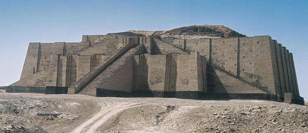 White Temple And Ziggurat Uruk Warka 3200 3000 B C