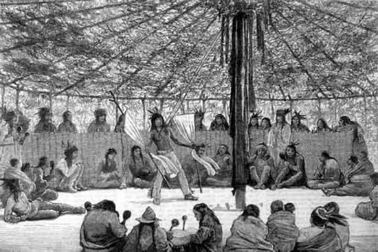 Native American Sun Dance With Meditation Info