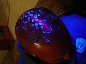 Blacklight Tattoos (Image Gallery) Wired - August 16, 2006