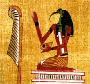 Thoth - God of the Moon, Magic and Writing  Tehutiwriting