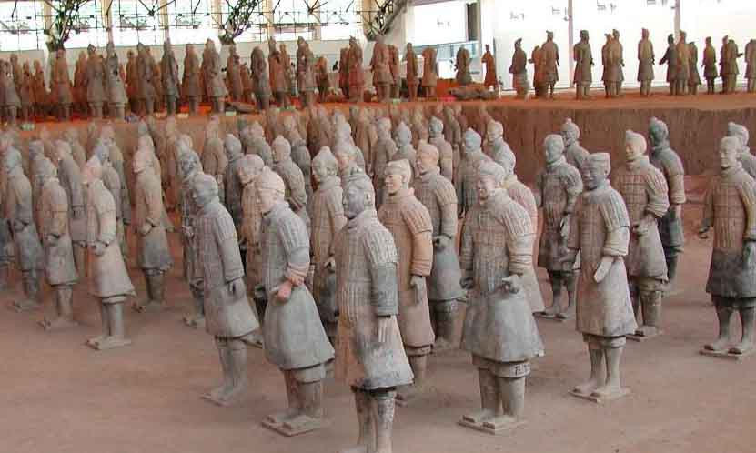 Terracotta Army Terra Cotta Warriors And Horses Crystalinks