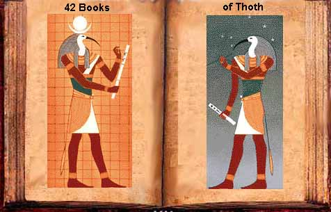 Thoth - God of the Moon, Magic and Writing  Thothbook42