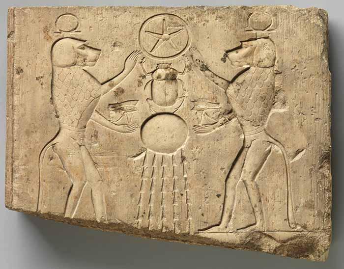 The Egyptian God Ra  Sun God of Egypt  Eye of Ra