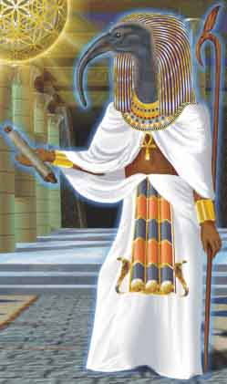 Thoth - God of the Moon, Magic and Writing  Thothpriest