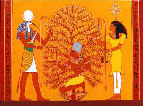 Thoth - God of the Moon, Magic and Writing  Thothseshattol