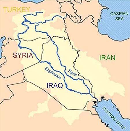 euphrates and tigris rivers meet cafe