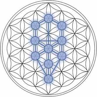 Flower of life crystalinks tree of life qabbalah kabbalah sciox Choice Image