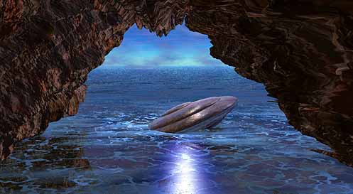 The Hollow Earth Ufocave