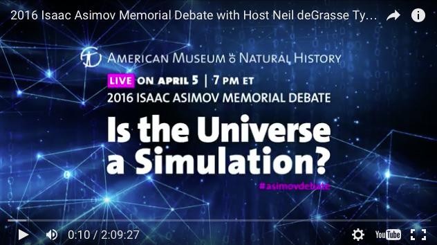 article universe computer simulation