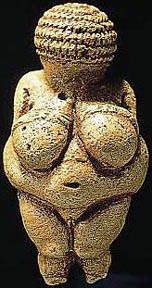 The Famous Ice Age Statuette Known As Venus Of Willendorf