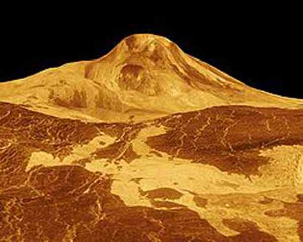 what planets and moons have volcanoes - photo #13