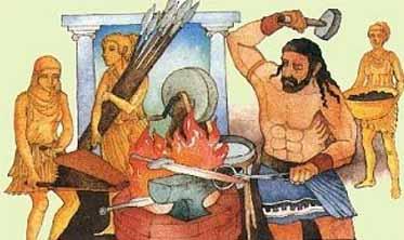 Volcanoes and Mythology Vulcan Roman God
