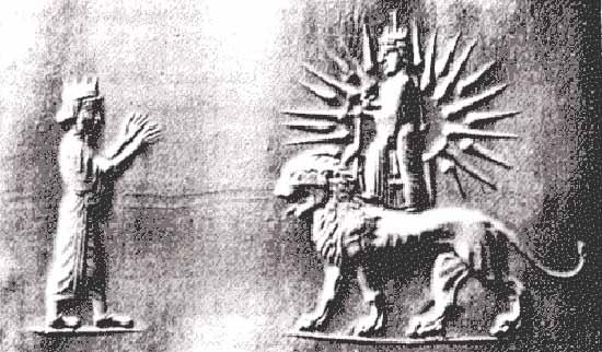 Faravahar or Farohar, Ahura-Mazda - Crystalinks